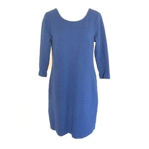 Ganni Anthropologie Lousa Shift Dress Textured S